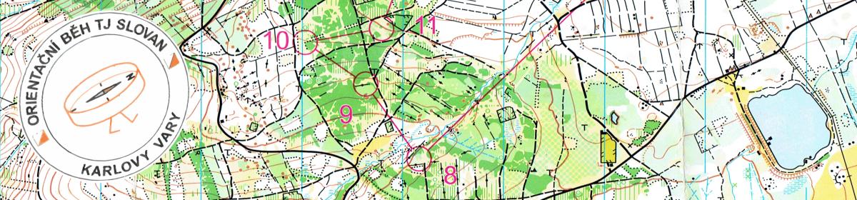 Orientační běh TJ Slovan Karlovy Vary
